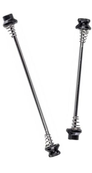Mounty Lite-Axles OS , musta/hopea